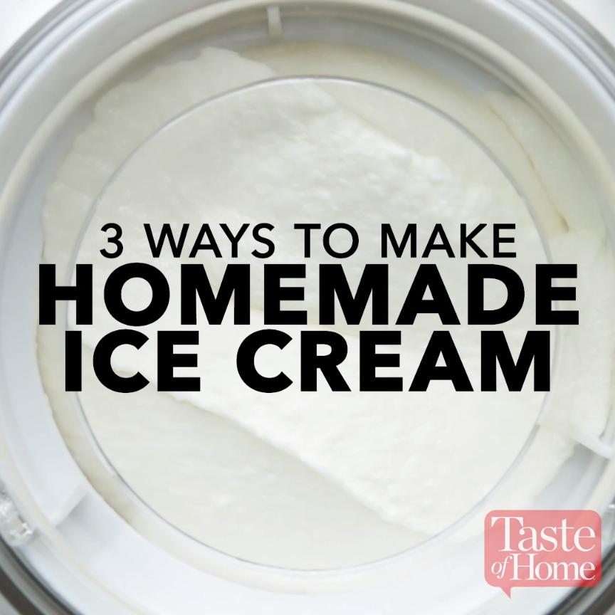Homemade Vanilla Ice Cream #homemadeicecream