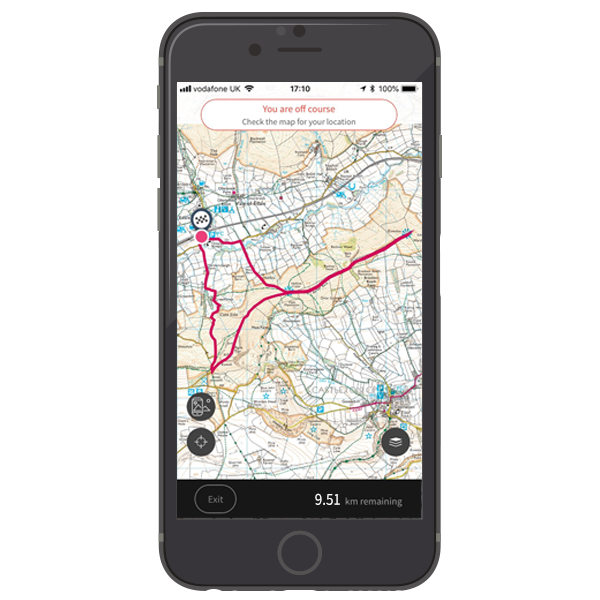 OS Maps online and App mapping system Ordnance Survey