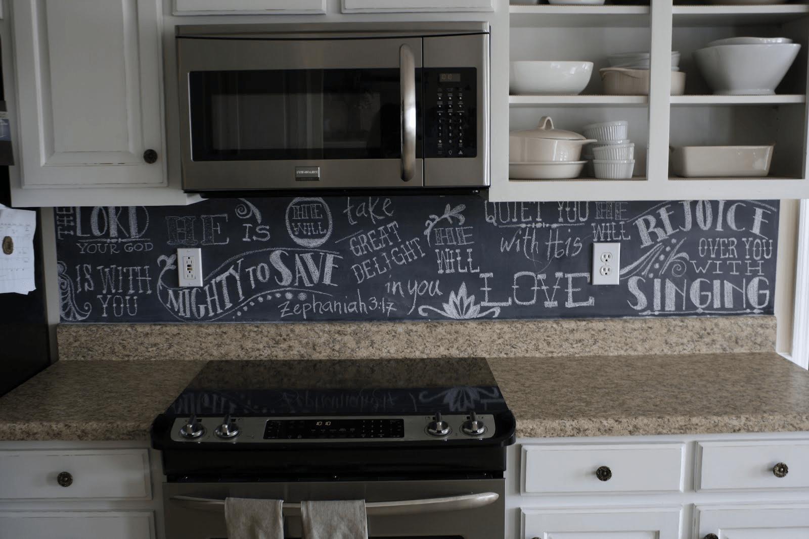10 Beautiful And Cheap Diy Rv Backsplash Ideas Rv Chalkboard