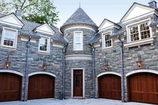 Alpine Stone Mansion Homes Architecture Pinterest Facade