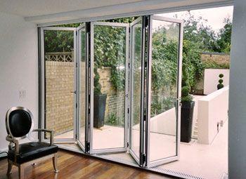Folding Doors Balcony Sök På Google Vindsvåning Pinterest - Bi fold glass patio doors