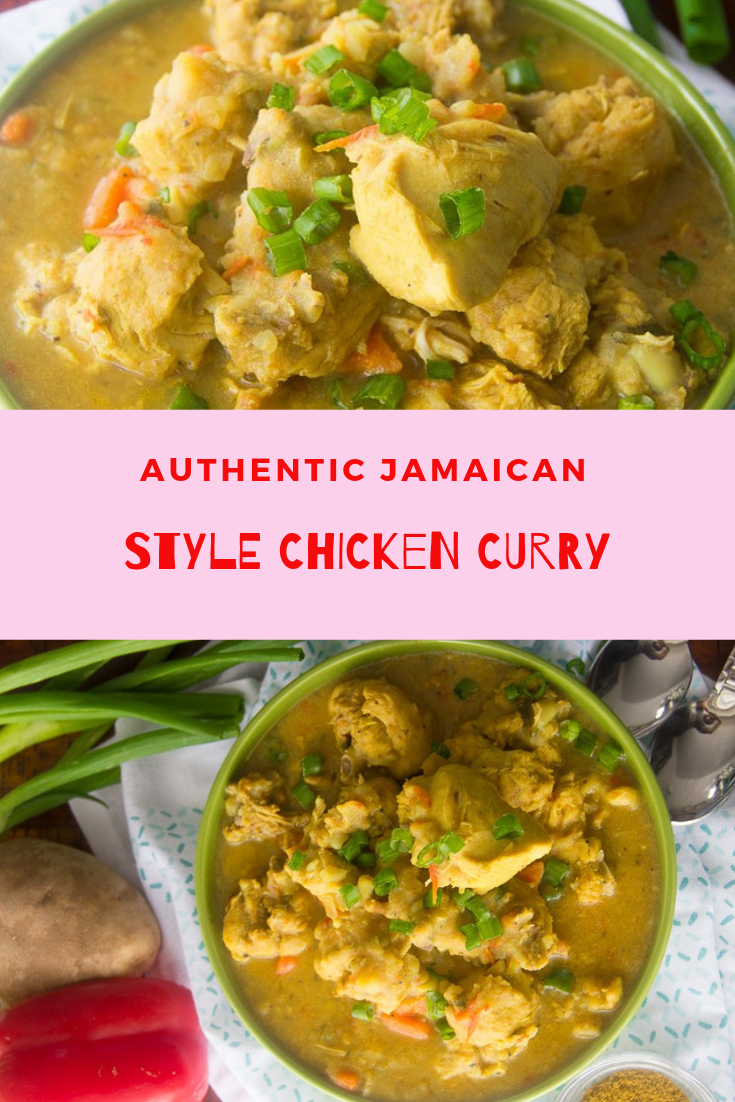 authentic jamaican style chicken curry chicken curry