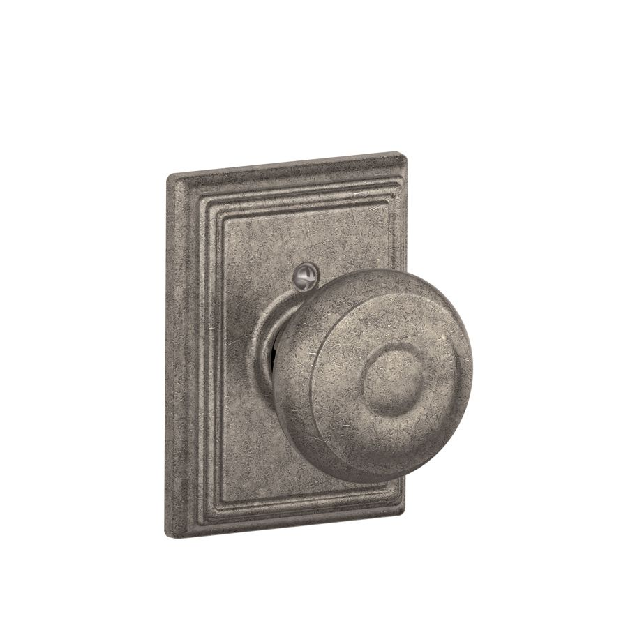 Schlage Decorative Addison Collections Georgian Distressed Nickel ...