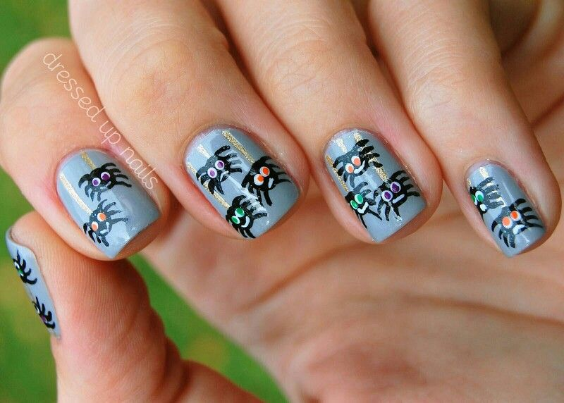 Pin by Rilee Shields on Nails | Halloween nail designs ...