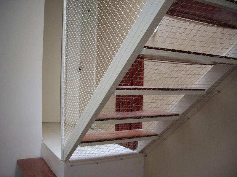 Red proteccion instalacion balcones ventana escalera - Proteccion para escaleras ...