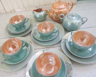 Noritake Lusterware Made in Japan | 1950's. Lusterware, Tea Set, Ha nd Painted, Made in Japan, Luncheon ...