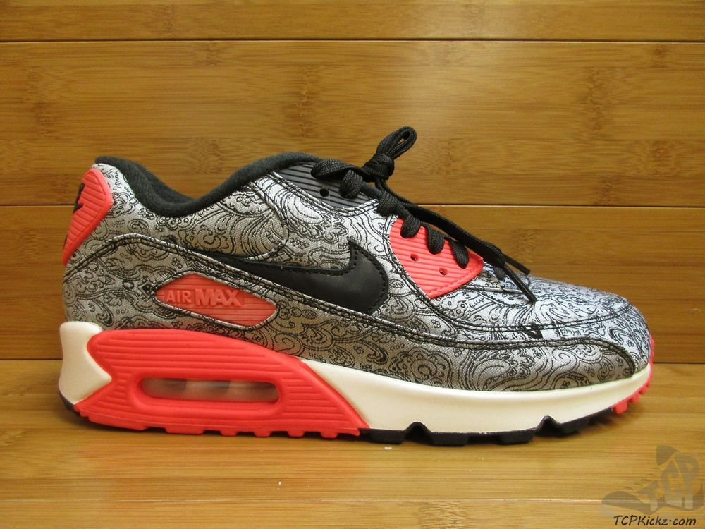 100% authentic 56b52 7c407 Nike Air Max 90 sz 9 Paisley Unreleased Promo SAMPLE Infrared 2015 OG DS  RARE Nike AthleticSneakers tcpkickz