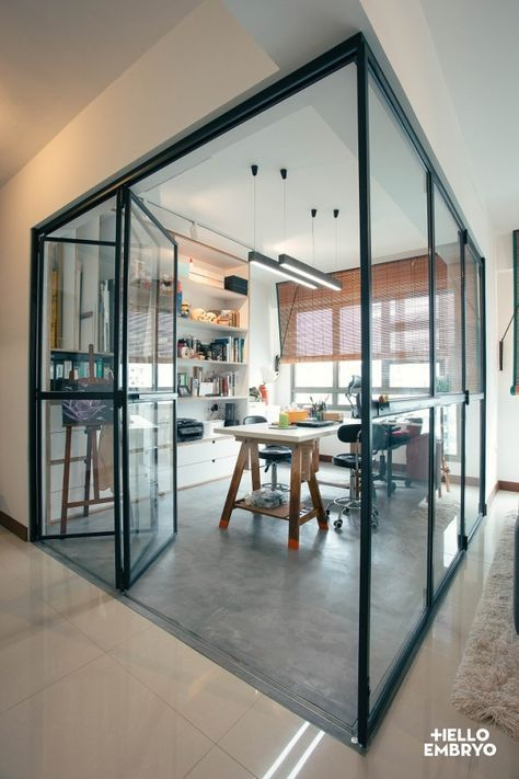 Hdb Study Room Design Ideas: RD Residence, Punggol Singapore. (With