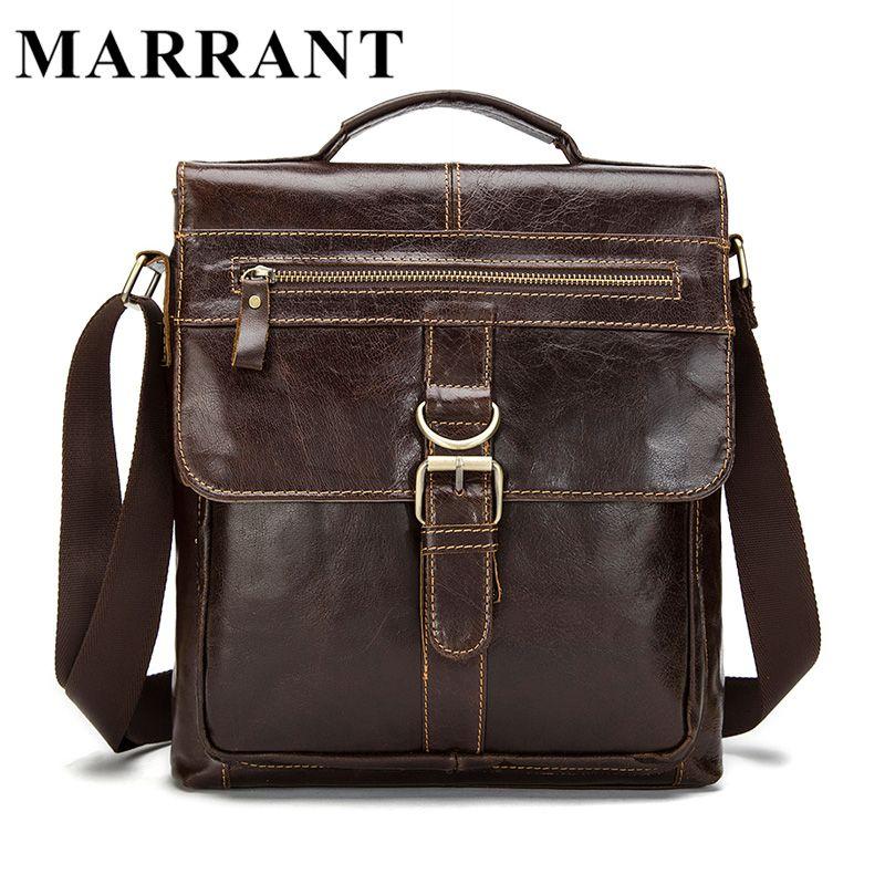 MARRANT Genuine Leather bag Men Bags Fashion Male Messenger Bag Men s  Briefcase Man Casual Crossbody bags Shoulder Handbag 1292 e6889bbc80aad