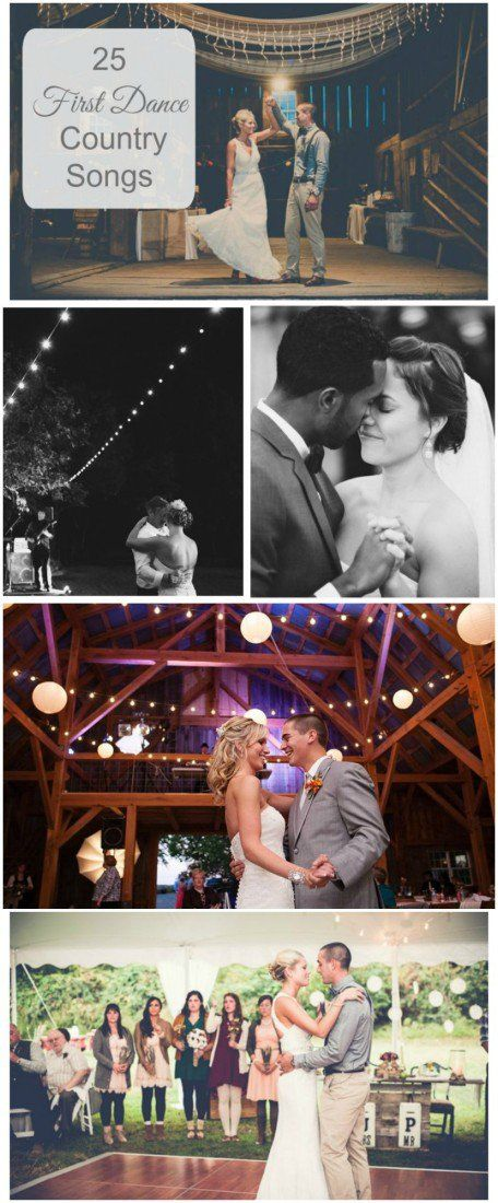 25 First Dance Wedding Country Songs
