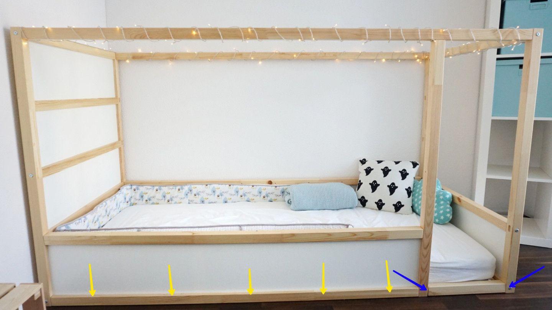 Ikea Kura Bett Kinderbett Inspiration Cama casita