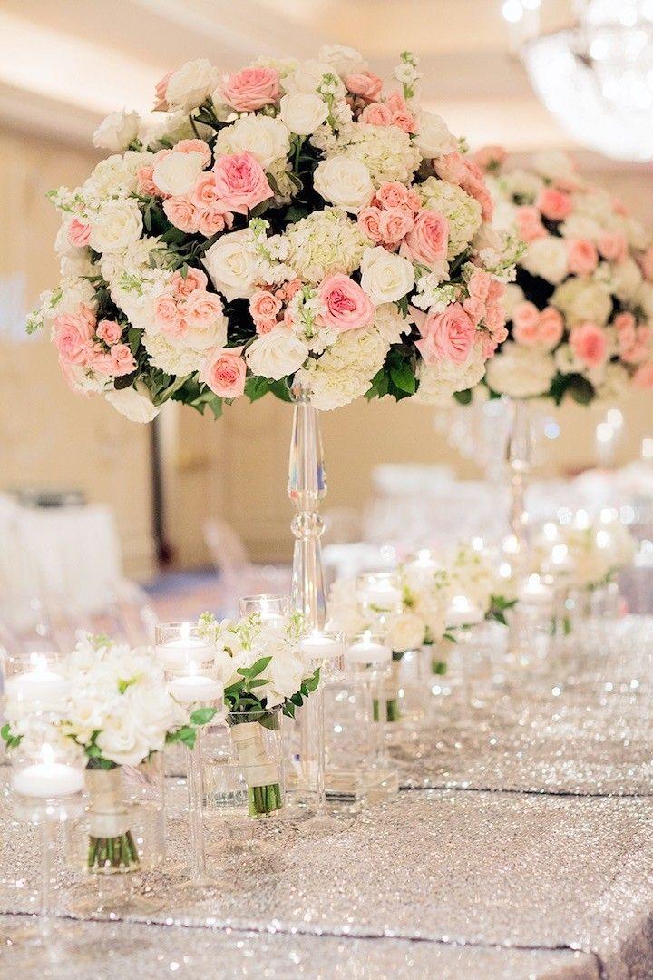 houston wedding silver and pink glamour glamour se hochzeit und tischschmuck. Black Bedroom Furniture Sets. Home Design Ideas