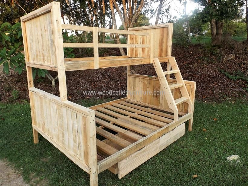 Charming Reusing Ideas For Used Shipping Pallets