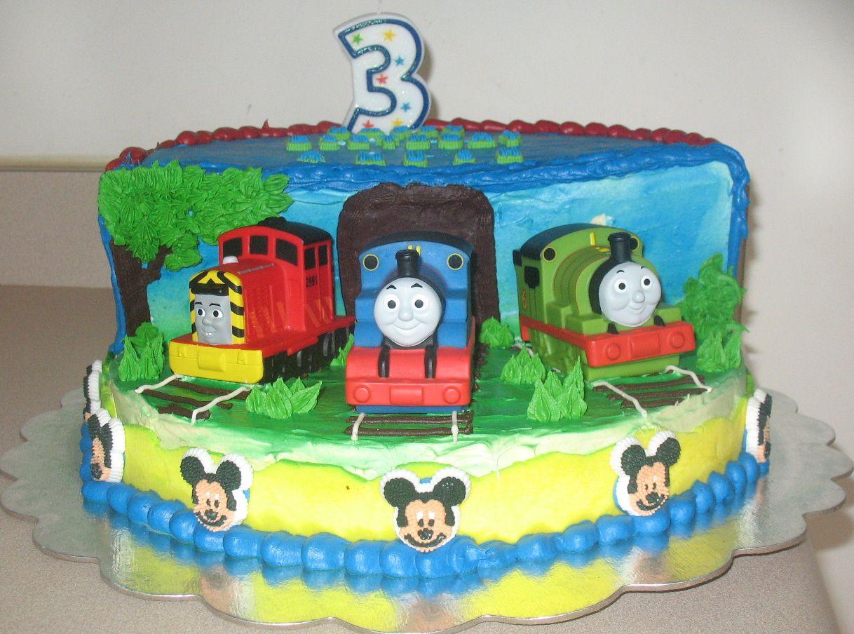 Thomas And Friends Birthday ANU CAKES N BAKES Anushs Rd - Thomas birthday cake images