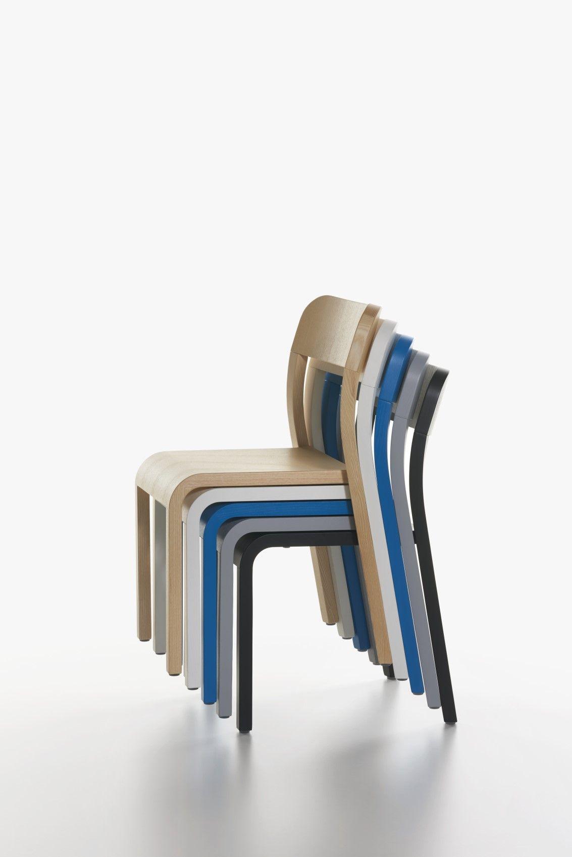 Plank Stuhl Blocco Designermobel Von Raum Form Plank Stuhle