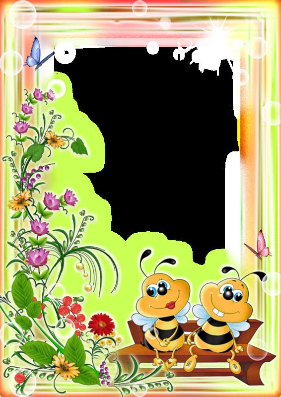 Маленькие картинки, рамки открытки для детского сада