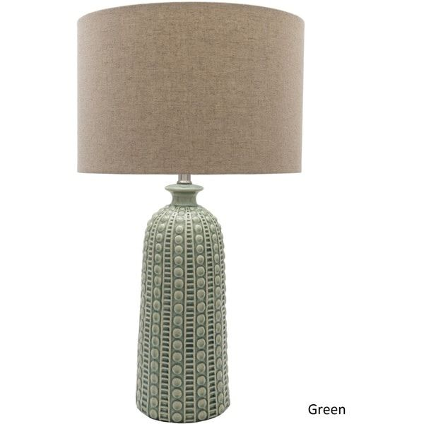 Hollywood table lamp with glazed ceramic base top 10 home decor trends for 2018 pinterest