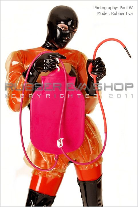 Fetish enema equipment