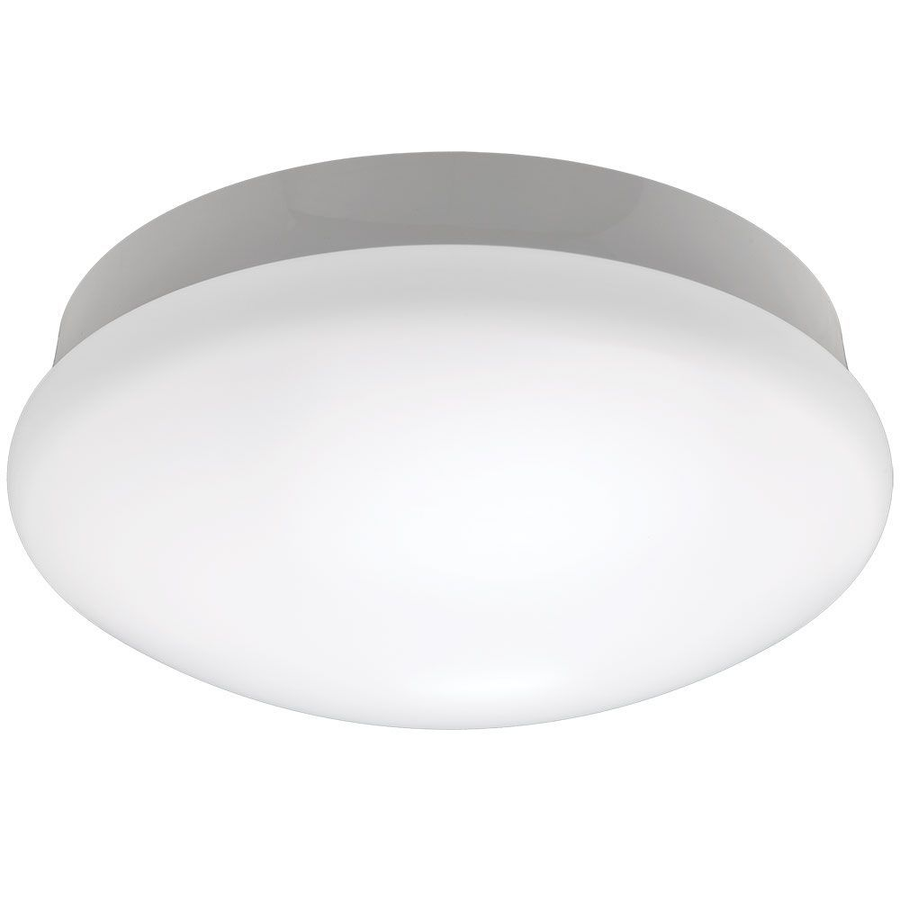 11 Inch Integrated Led Flushmount Ceiling Light Fixture In Bright White Light Fixtures Led Light Fixtures Led Lights