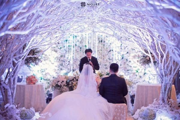 Elegant Wedding Decorations For Reception Snow Forest | Visit  Www.lovelyweddingideas.com