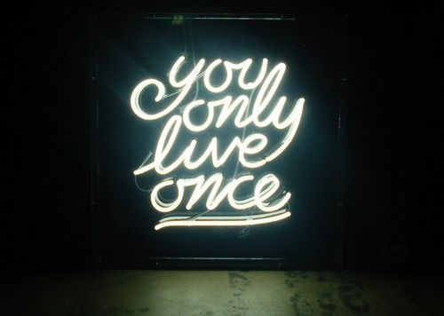 You Only Live Once Beer Bar Pub Wall Hanging Visual Art Neon Sign Light