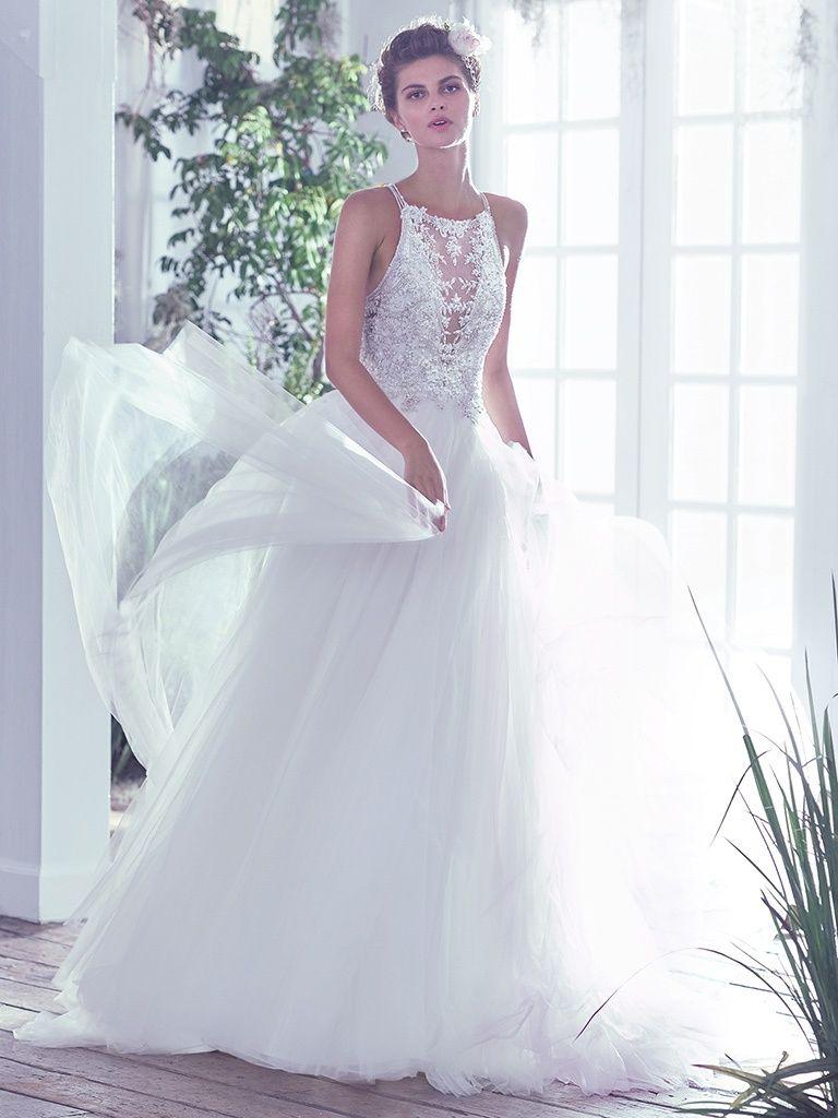Attractive Temperley London Wedding Dress Vignette - All Wedding ...