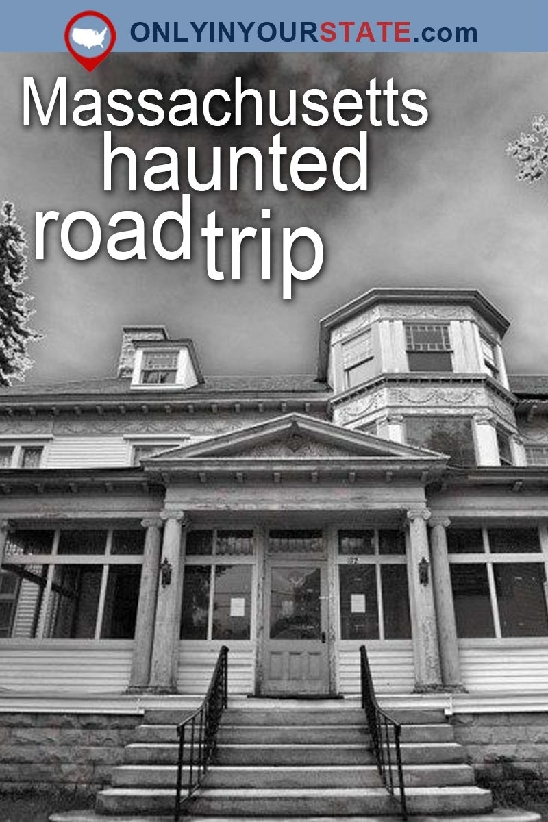This Haunted Road Trip Will Lead You To The Scariest