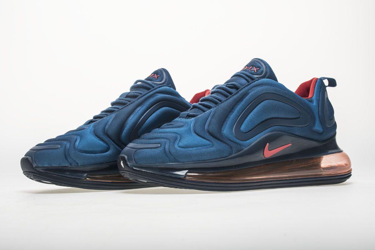 Nike Air Max 720 AR9293-401 Dark Blue Red Shoes4  6164ba5ecf71