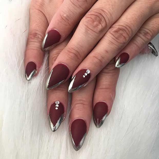 60 Trendy Gel Polish Nails Art - Long Nails | Nail Designs ...