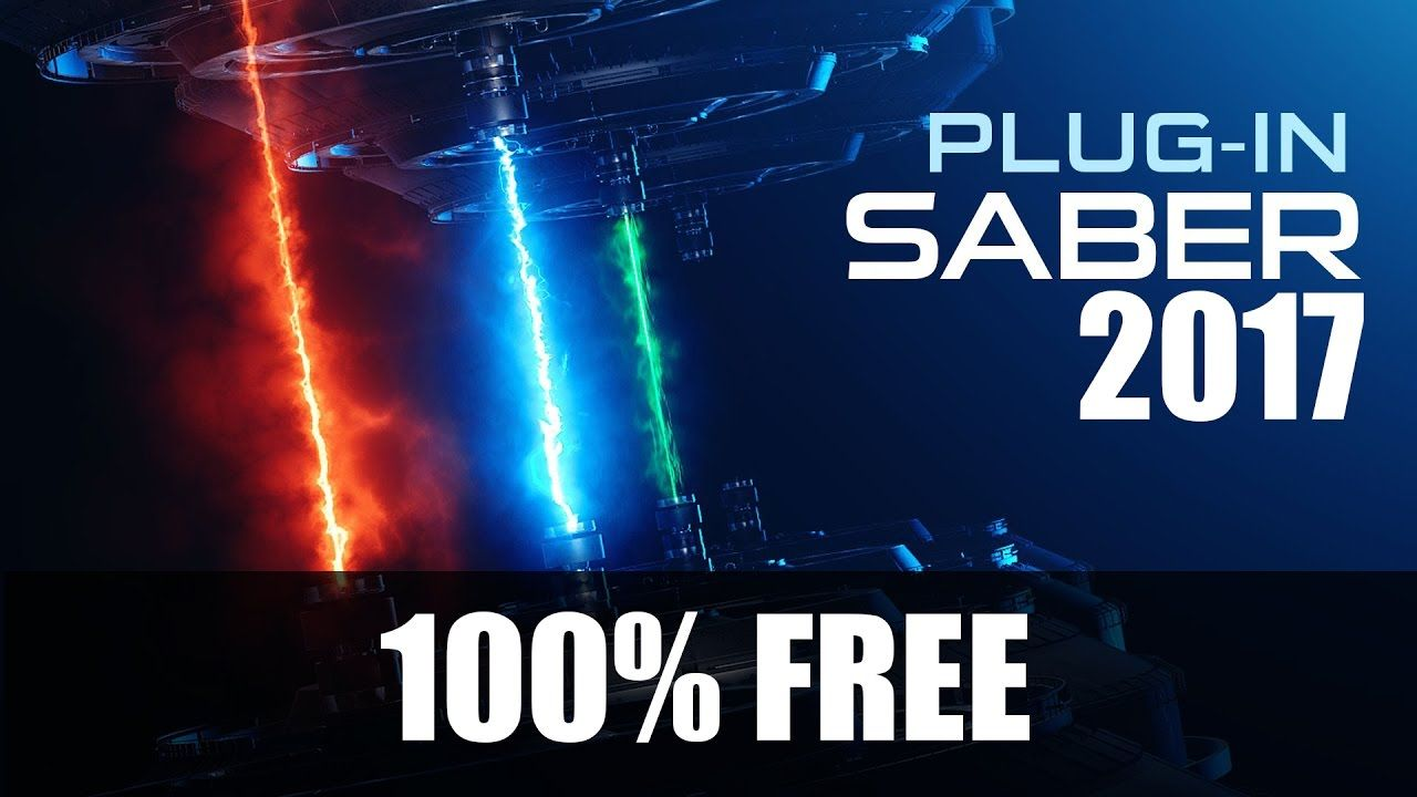 How To Download And Install After Effect Plugin Saber For Cc 2017