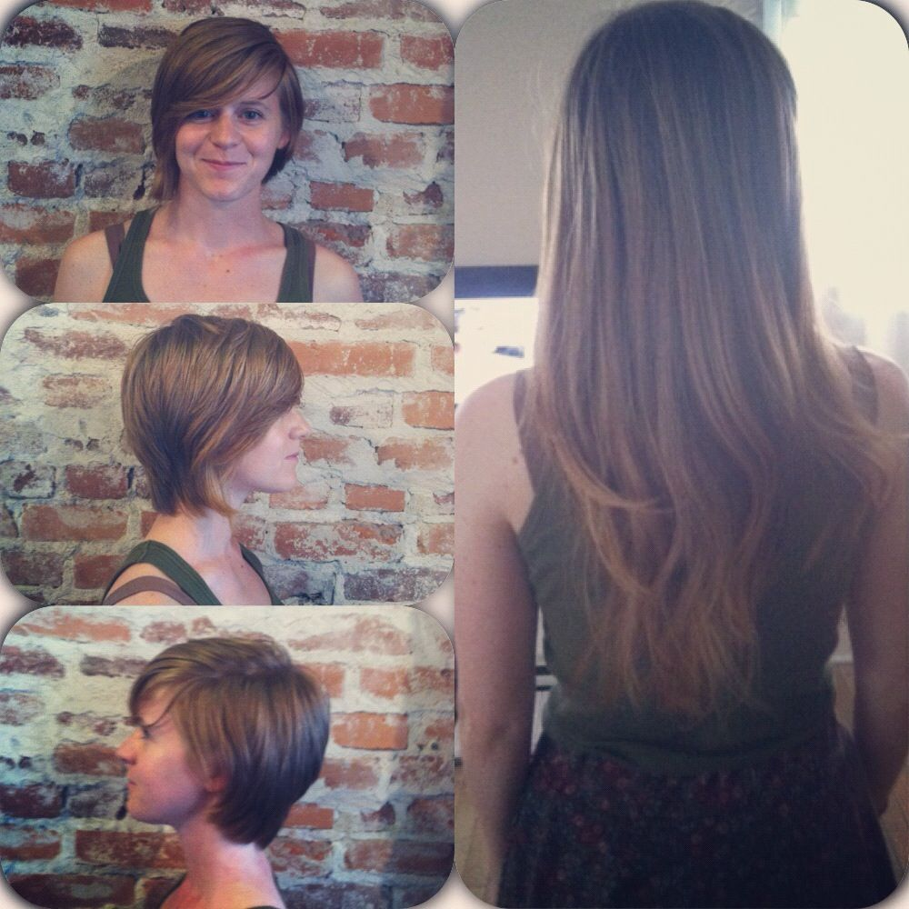 before and after! locks of love donation   hair do's and don