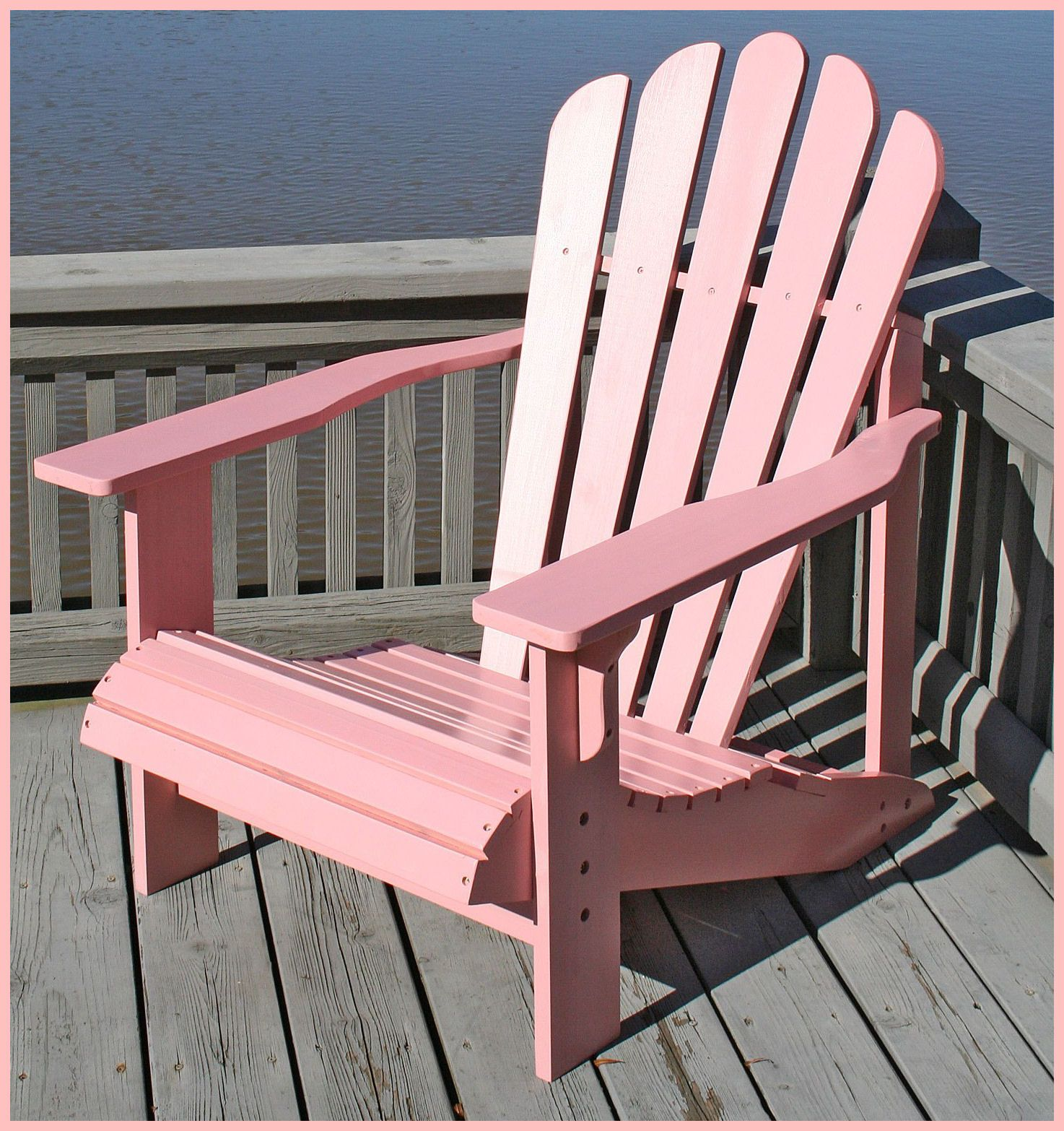 Terrific Pink Adirondack Chairs Are Cool In 2019 Pink Furniture Andrewgaddart Wooden Chair Designs For Living Room Andrewgaddartcom