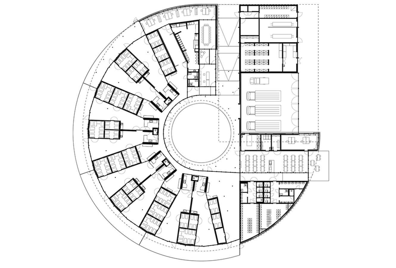 Image Result For Circular Courtyard Plan
