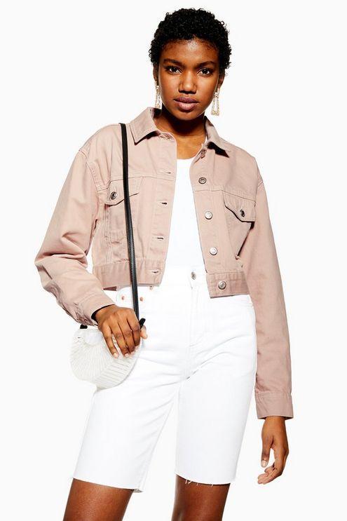 Mink Pink Tapered Denim Jacket