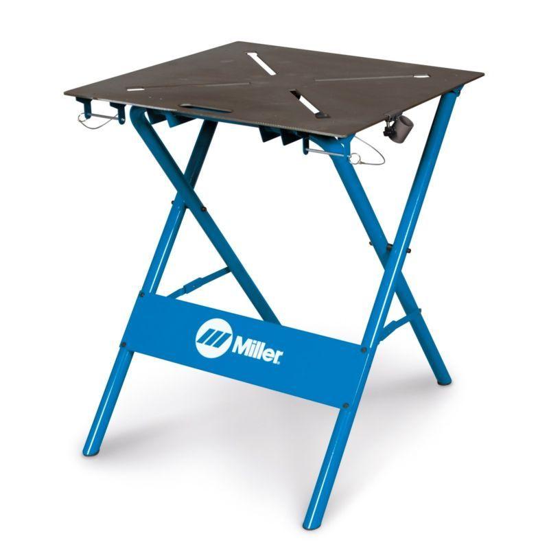 Details About Miller 30fx Folding Arcstation Work Bench 300837
