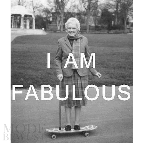 Um. I am fabulous. Duh! #modebewust #fabulous #quote