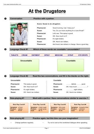 Handouts Online: English Worksheets, activities and lesson plans ...