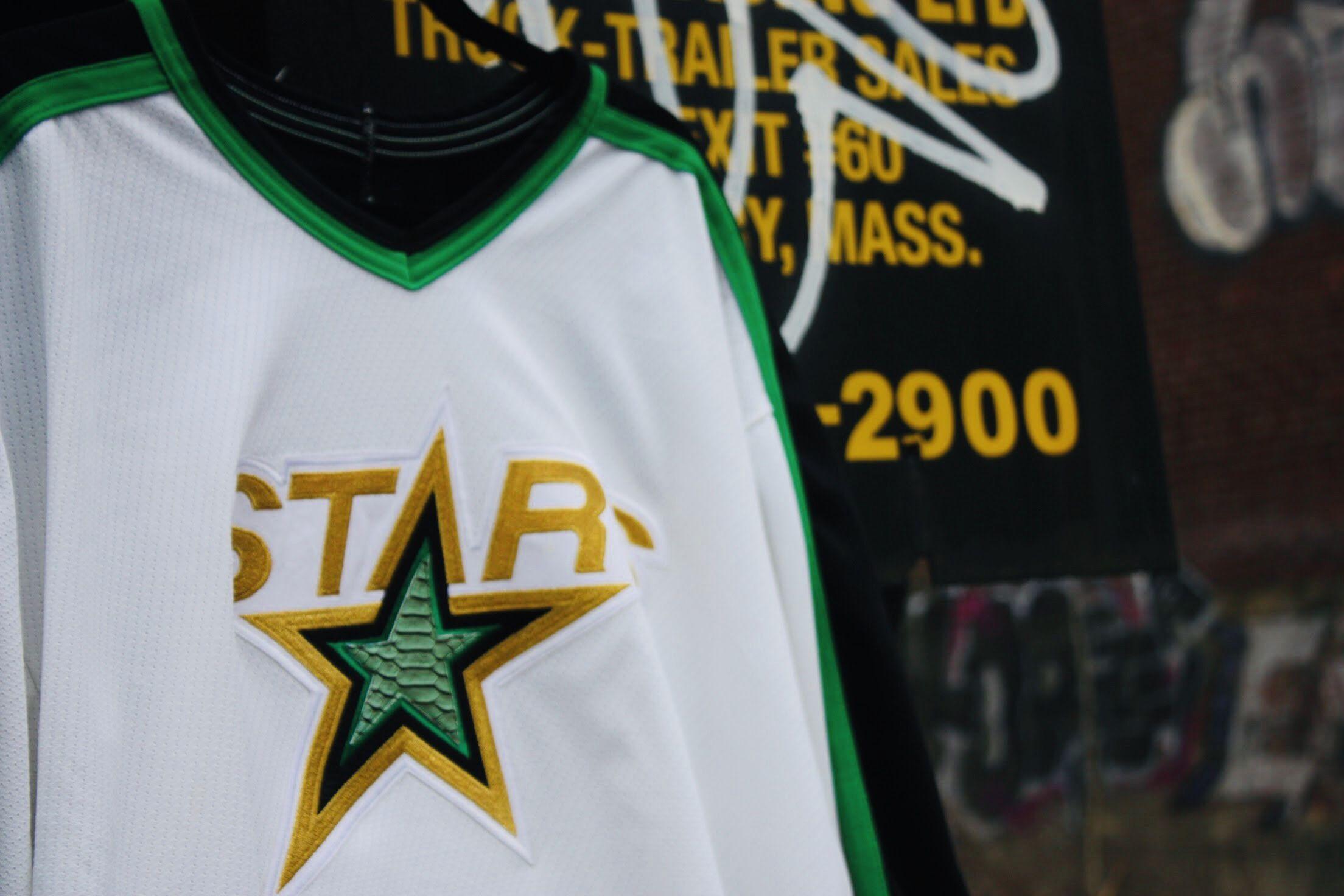 pretty nice e004f e377c Dallas Stars Retro Jersey 90'-98' | Wuhn Ltd Custom Apparel ...