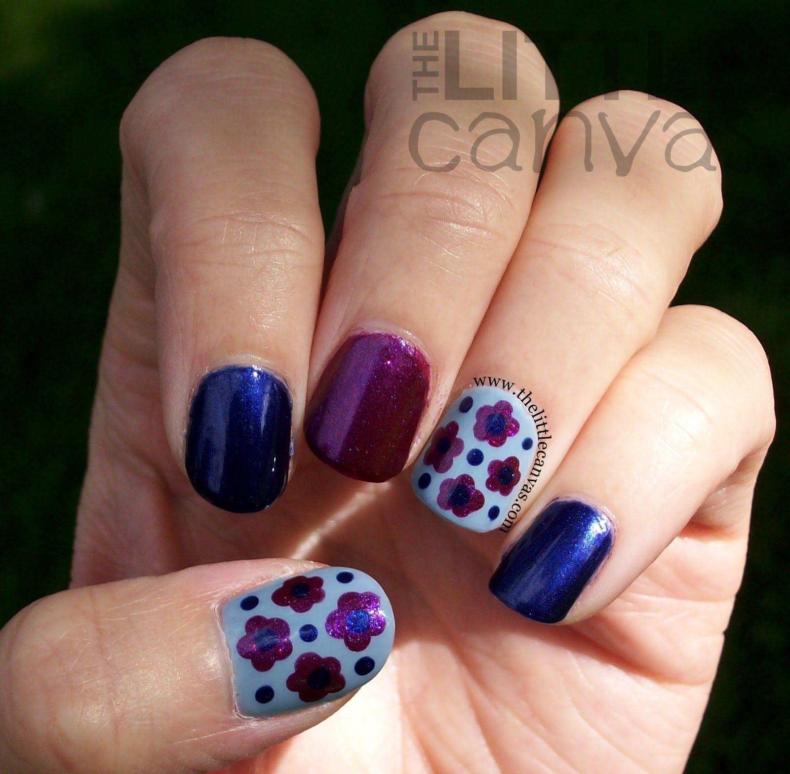 The Little Canvas: The Little Canvas: Zoya Mason & Neve Dot Flowers
