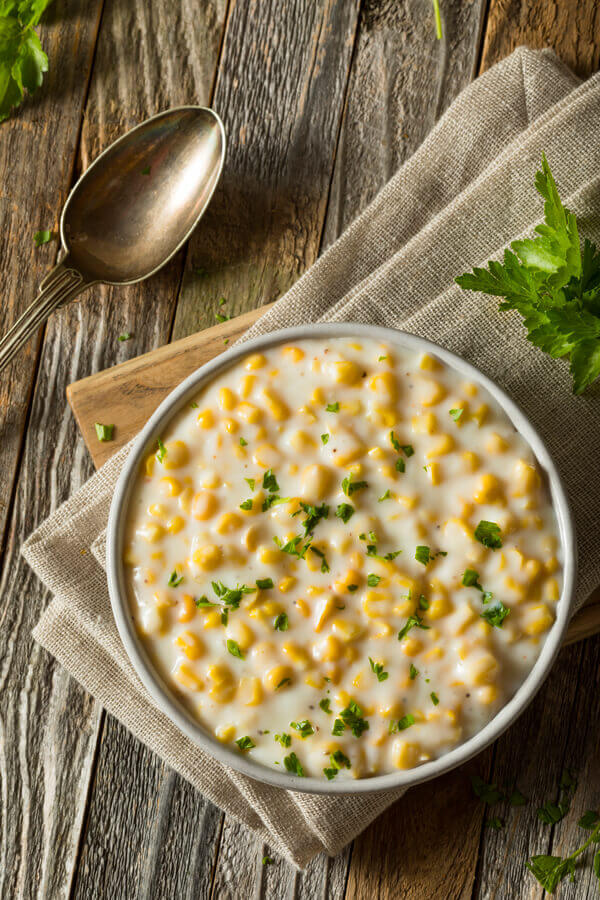 Brookville Hotel Creamed Corn Recipe | CDKitchen.com