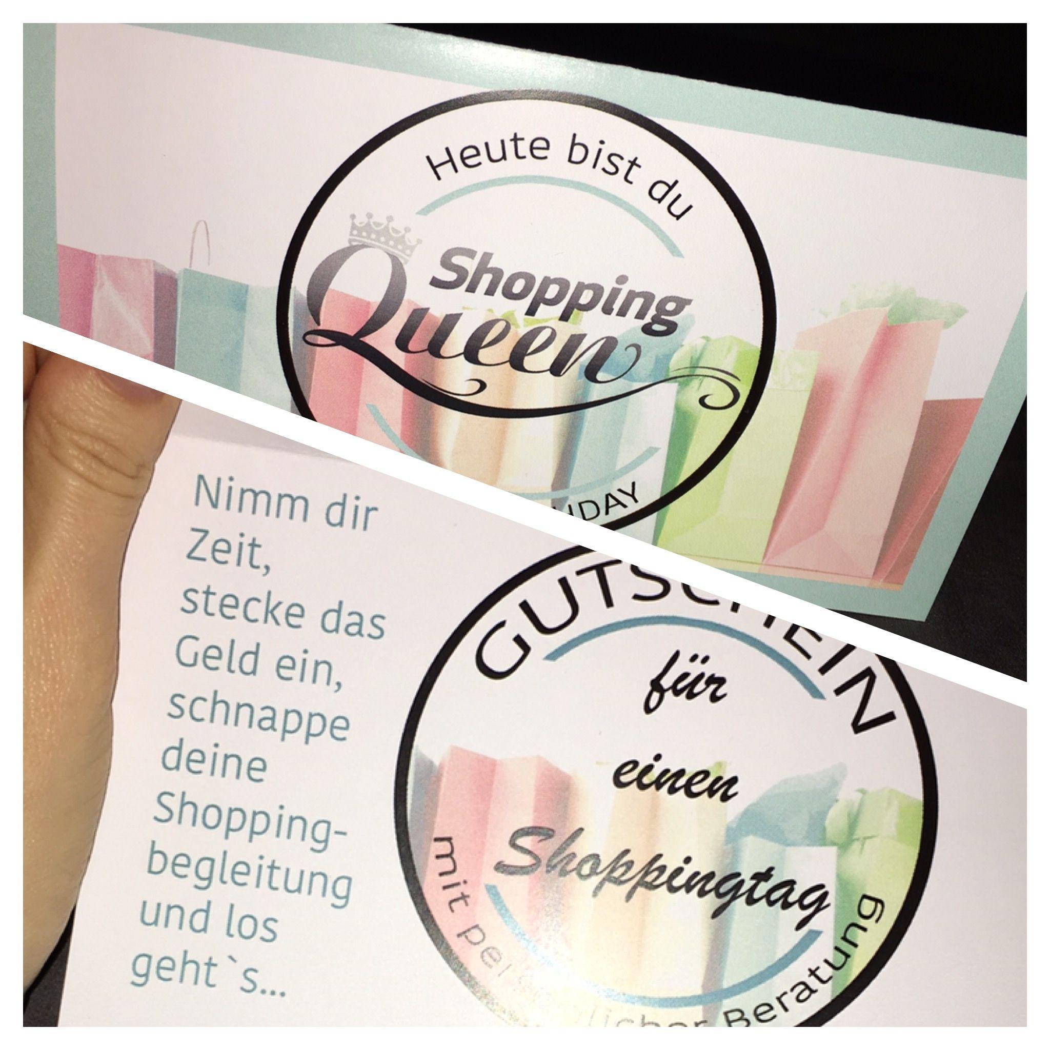 Shopping Queen Gutscheinkarte Zum Geburtstag In 2020 Gutschein