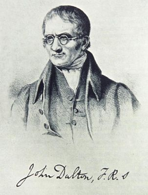 John Dalton Chimiste Physicienne Personnalites