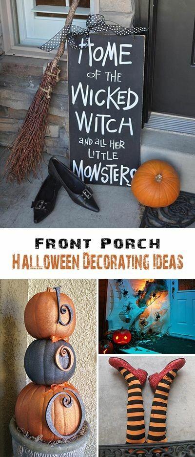 Fall decor, front door decor, indoor decor, home decor, potch decor - halloween decorating ideas indoor