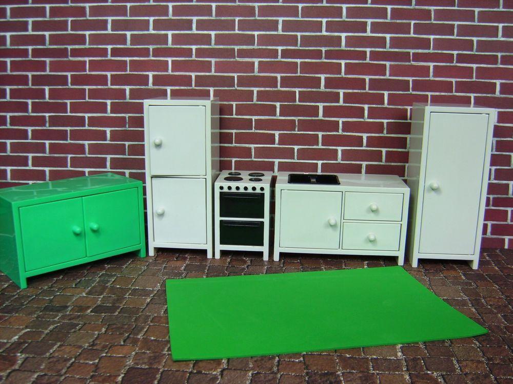 IKEA Puppenmöbel Küche 5 Teile Puppenzimmer Spielzeug Zubehör für ... | {Mini küchenzeile ikea 39}
