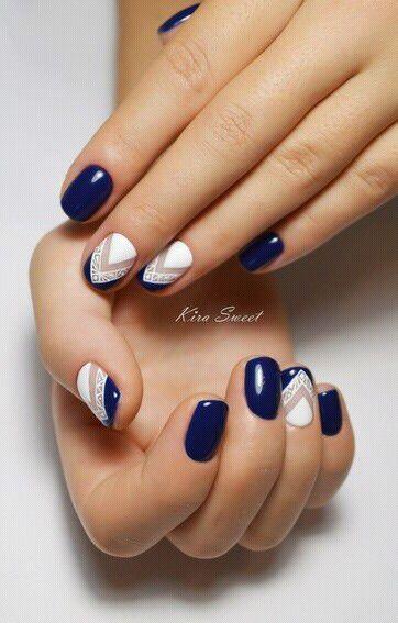 Imagen vía We Heart It #beauty #colors #creative #gel #nailart ...