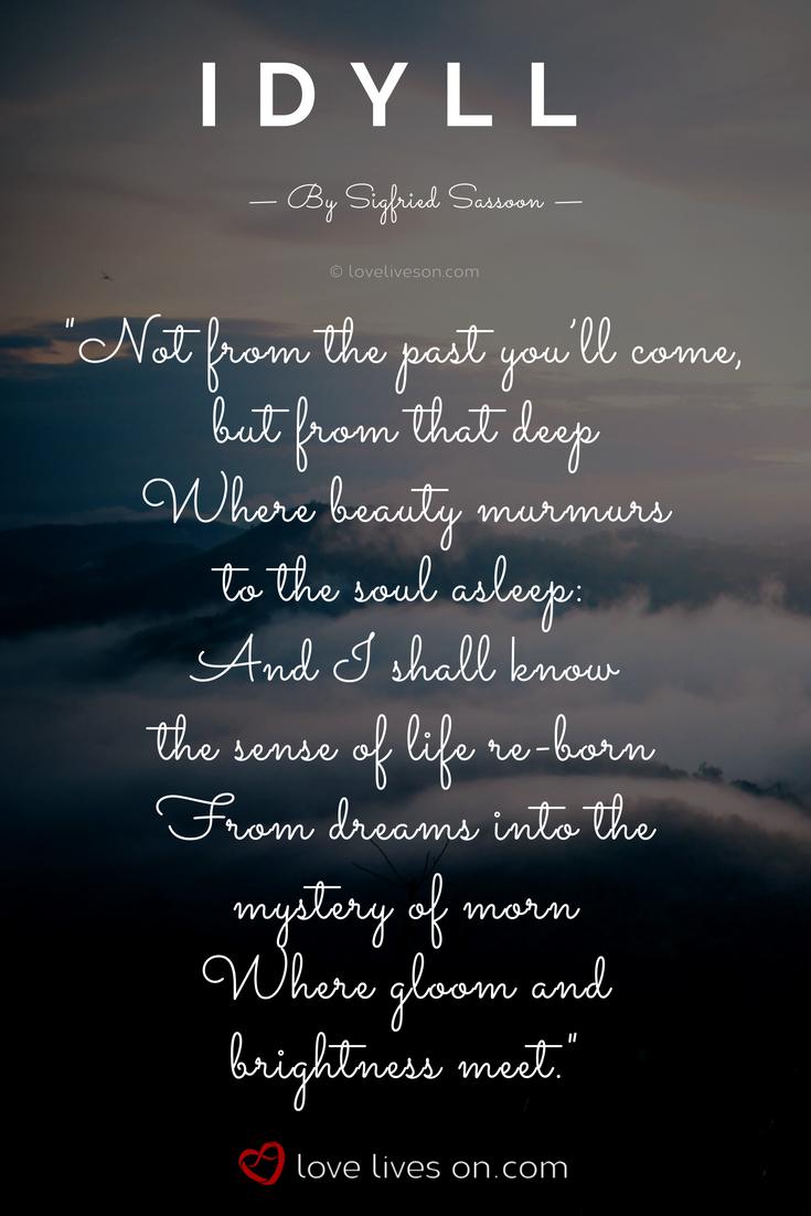 idyll lyrics