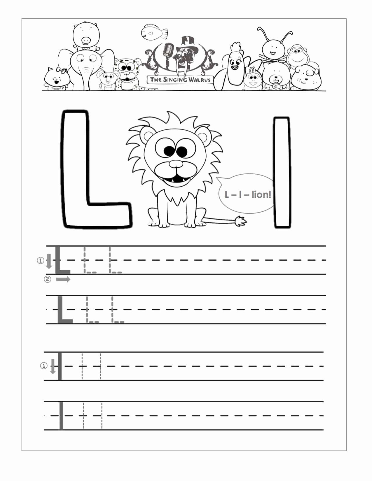 Worksheet Kindergarten Writing