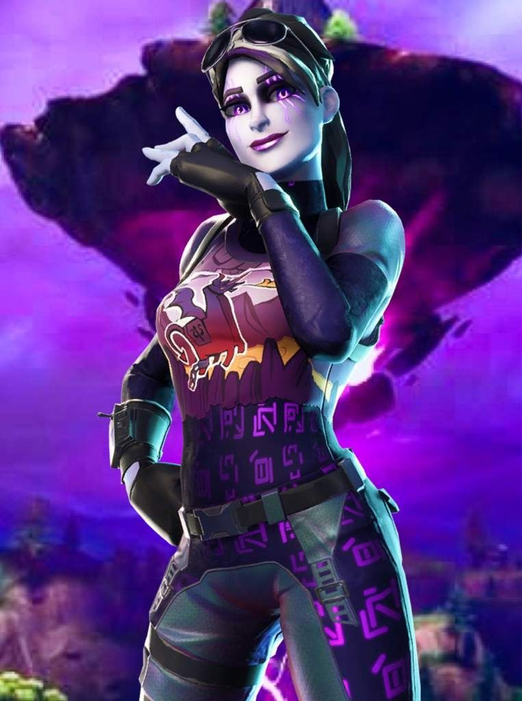 Tsuki Fortnite Skin Thumbnail Hintergrund Fortnite Hintergrund Dark Bomber Di 2020