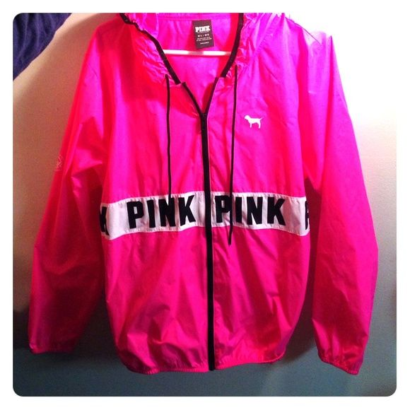 Victorias Secret PINK windbreaker | Utility jacket, Coats and ...
