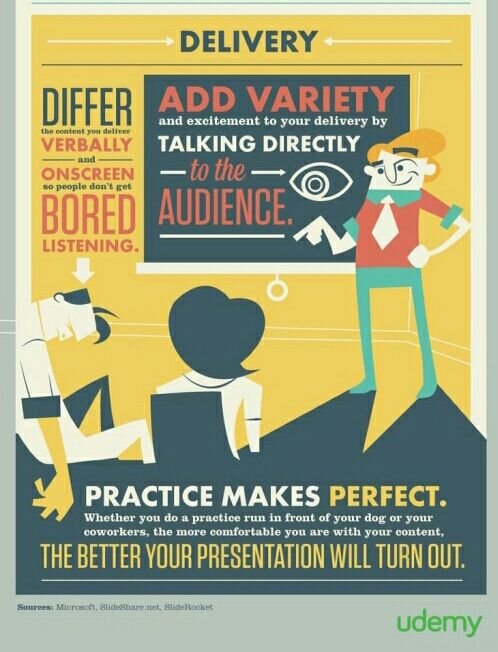 How to make a PowerPoint presentation that won't put people to sleep.